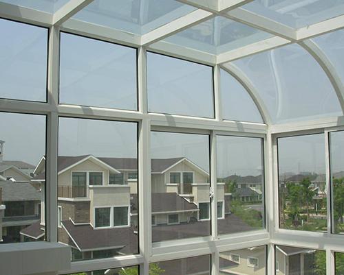 双层玻璃阳光房